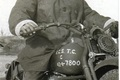 Hugh Patterson, Dispatch Rider WWII
