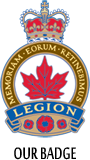 Royal Canadian Legion Symbol - Our Badge