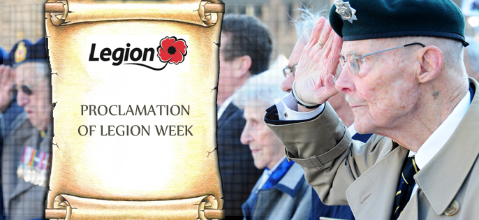 Proclamation of Legion Week