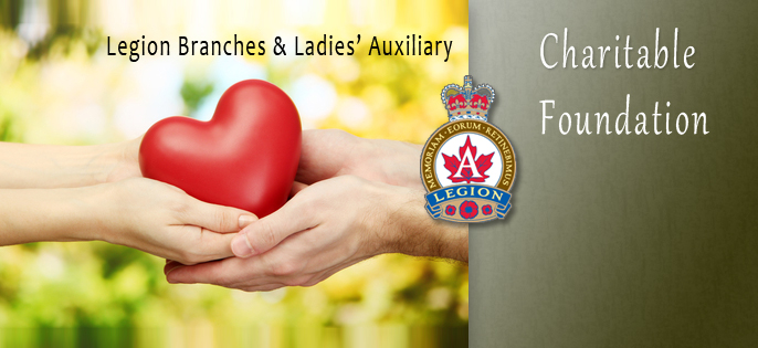 Legion Branches & Ladies' Auxiliary Charitable Foundation