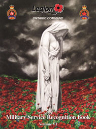 Military Service Recognition Book - Ontario Command